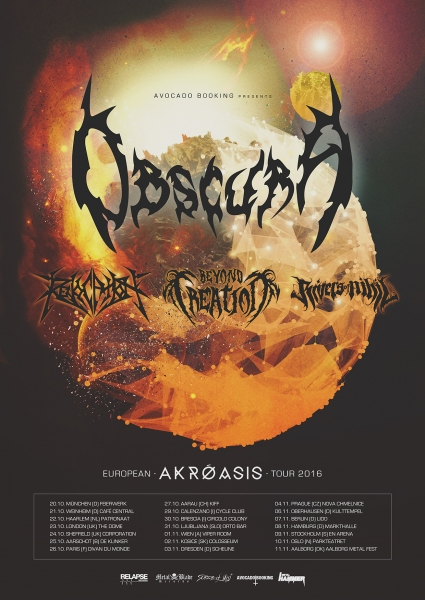 Obscura Akroasis Europa 2016