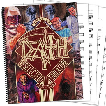 Death Tablature Book Frontcover