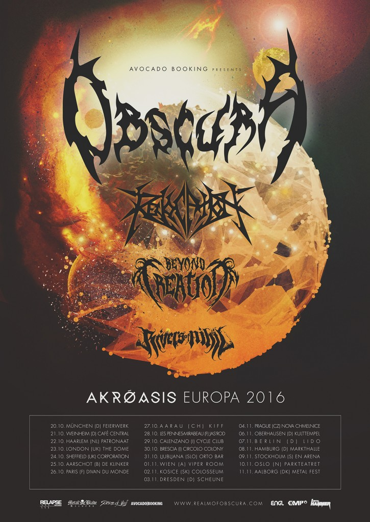 Obscura | Akroasis Europa 2016