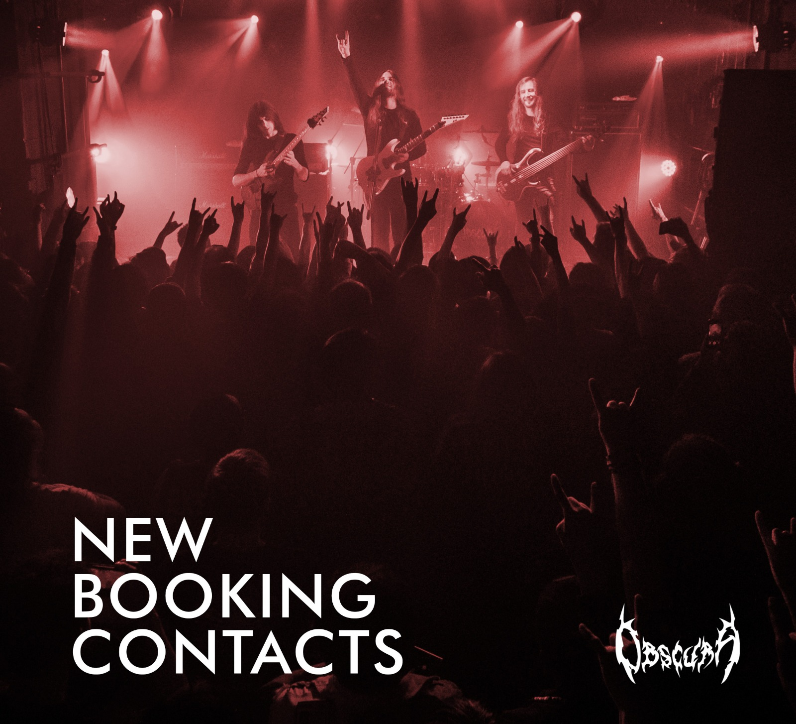 OBSCURA | new booking contacts